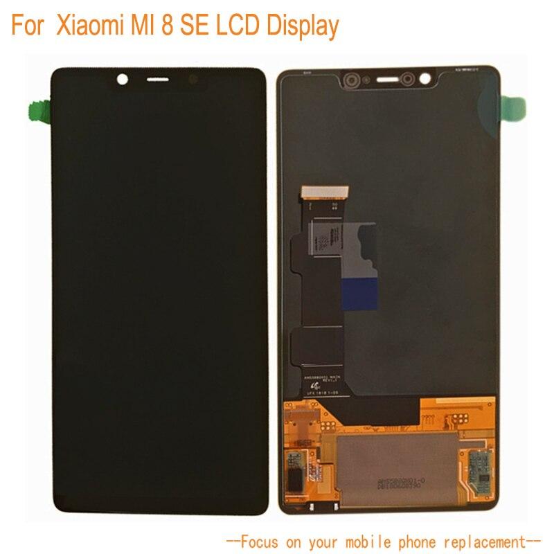 ЖК дисплей Дисплей для Xiaomi Mi 8 SE + Сенсорный экран планшета Ассамблеи замена мобильного телефона Аксессуары для Xiaomi Mi 8 SE ЖК дисплей