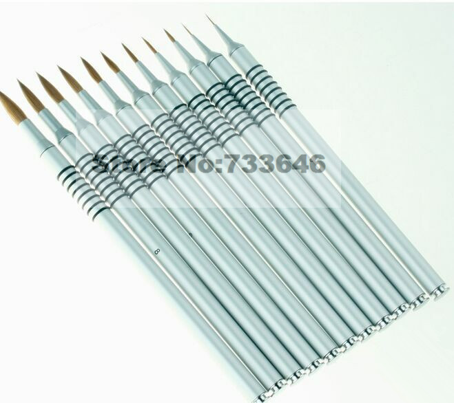 Professional nail tools font b 3d b font nail brush brunts carved font b pen b