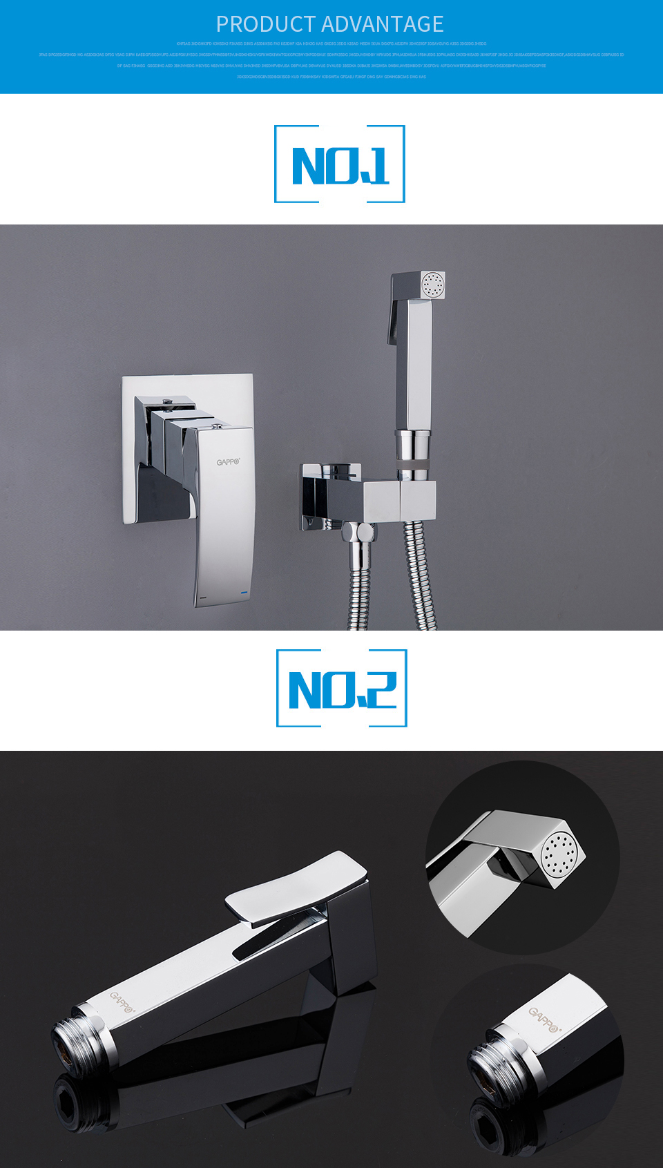 Aluminum Universal Bathroom Shower Head Holder Adjustable Bracket Suction EA7X