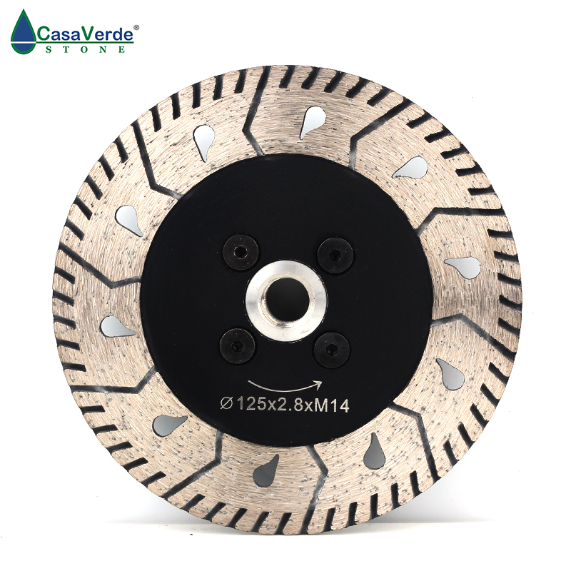 """Free shipping 125mm circular cutting wheels 5 inch with 5/8""""-11 flange for stone diamond grinding disc"""