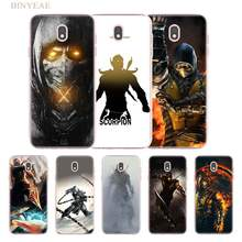 BINYEAE Scorpion Mortal Kombat Soft Silicone TPU Cover Case for Samsung J4 J6 J8 2018 J3 J5 J7 2016 2017EU J5 J7 Prime(China)