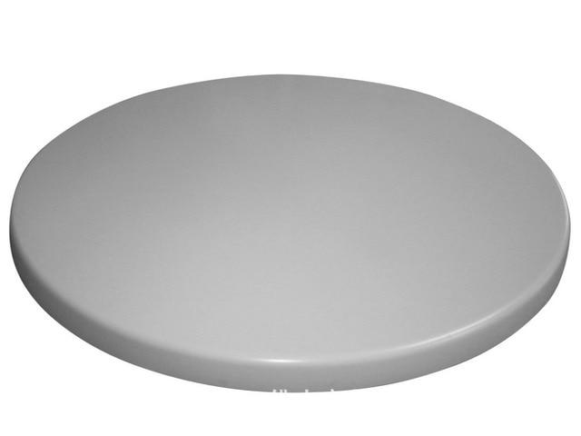 En plein air café bureau de résine ronde de table tableau moulage