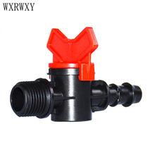 Wxrwxy Bewässerung ventil männlichen 1/2 zu die 1/2 schlauch barbed stecker garten tippen krane 16mm schlauch Wasser-ventil 20 stücke