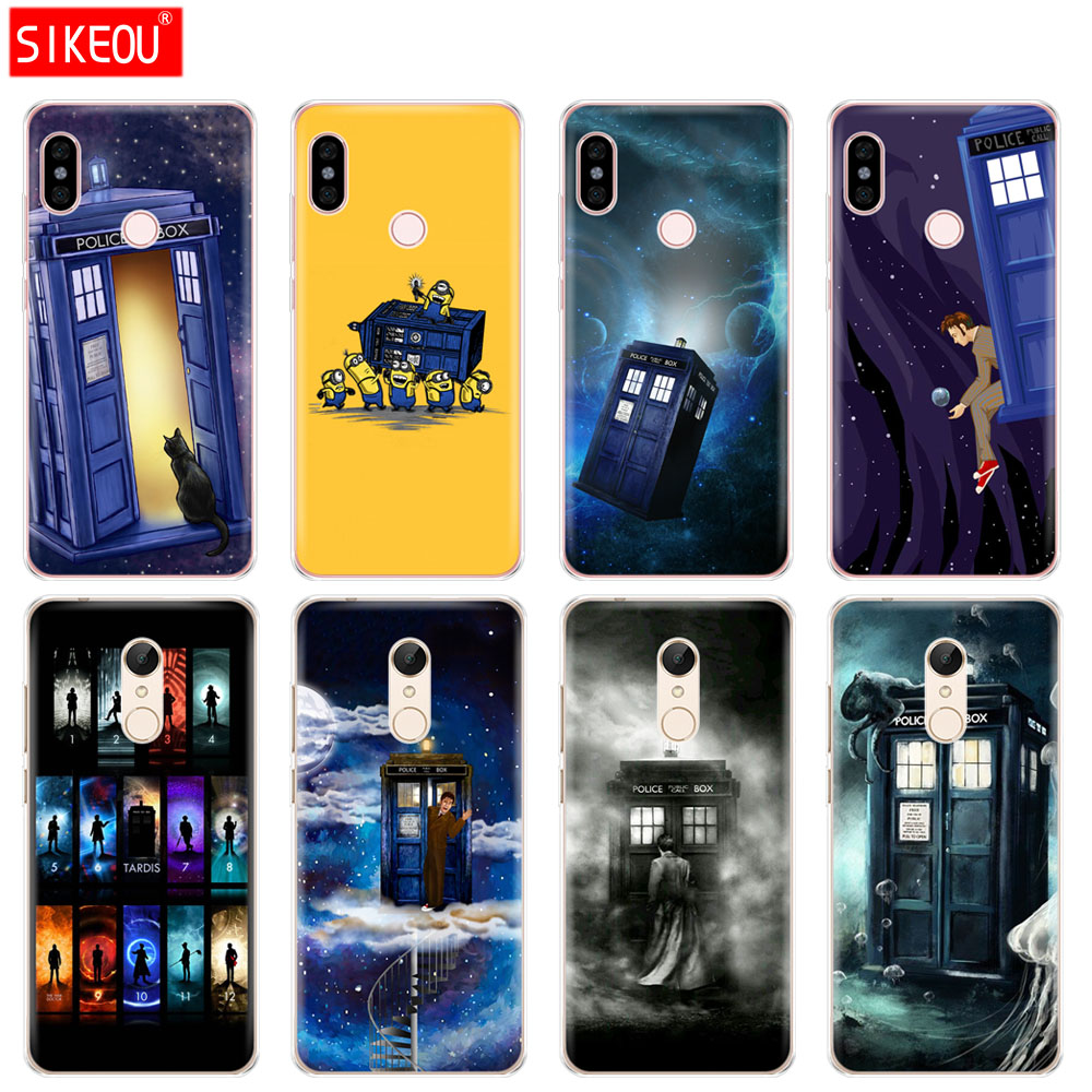 Cover Soft Silicone Tpu Case For Xiaomi Redmi 3 4x 4a 5 Plus 5a S2 6a 6 Pro Note 5 6 4 3 5a Floral Tardis Tardis Doctor Who Phone Bags & Cases Cellphones & Telecommunications