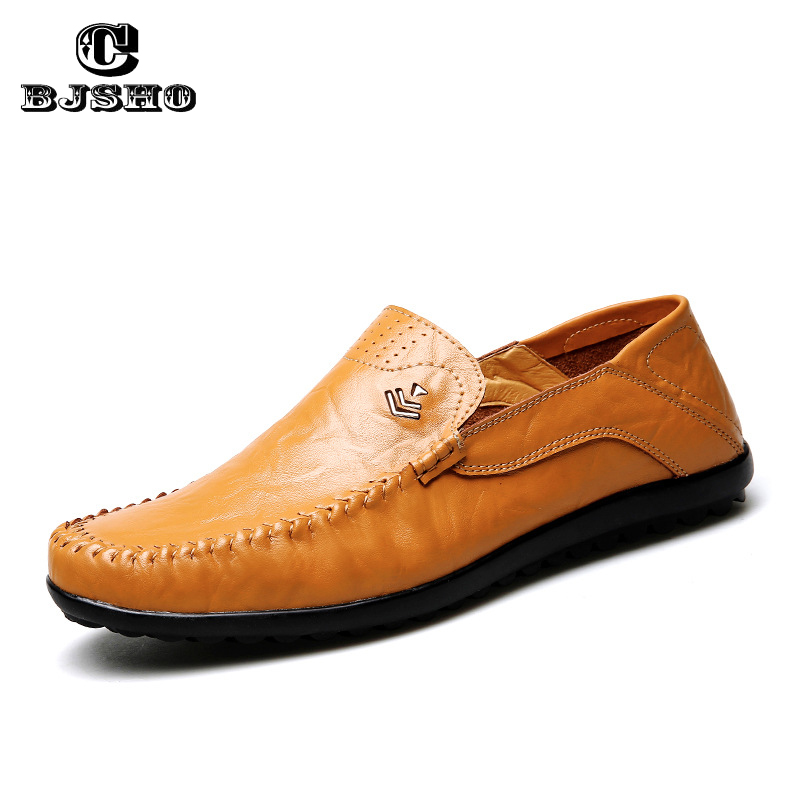 CBJSHO High Quality Genuine Leather Men Shoes Soft Moccasins Loafers 2017 Fashion Brand Men Flats Comfortable Driving Shoes 2017 new brand breathable men s casual car driving shoes men loafers high quality genuine leather shoes soft moccasins flats