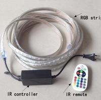 NON Waterproof 3528 RGB Led Strip Flexible Light 60led M 5M 300 LED SMD DC 12V