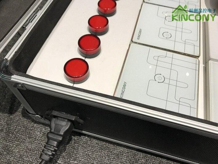 Smart home automation demo box zigbee rf wireless light socket supply source code to control