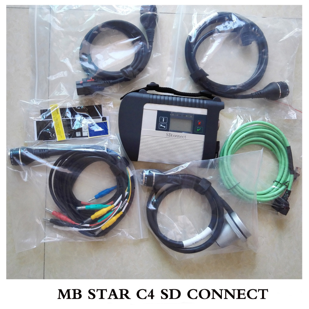 Top quality MB Star C4 09 2016v for Cars Trucks Powerful Function Mb Star C4 SD