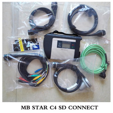 Top quality MB Star C4 09/2016v  for Cars&Trucks Powerful Function Mb Star C4 SD Connect DHL Free&Fast Shipping