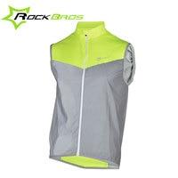 Rockbros Cycling Jersey Reflective Downhill Motocross MTB Jersey 2 Styles Road Bicycle Bike Shirt Sport Vest