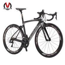 SAVA HERD5 0 700C Road Bike Carbon Bicycles Shimano 5800 105 Groupset Carbon Fiber Wheelset Seatpost