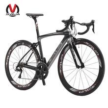 SAVA HERD5.0 700C Road Bike Carbon Bicycles Shimano 5800 105 Groupset Carbon Fiber Wheelset / Seatpost / Fork 22 Speed Bicicleta
