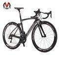 Sava herd5.0 700c bicicleta de estrada bicicletas de carbono shimano 5800 105 Groupset Rodado em Fibra de Carbono/Selim/Garfo 22 Velocidade Bicicleta