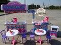 Девушка подарок на день рождения аксессуары кукольный дом мебель для кухни мини-бургер ресторан быстрого питания для куклы барби diy игрушки