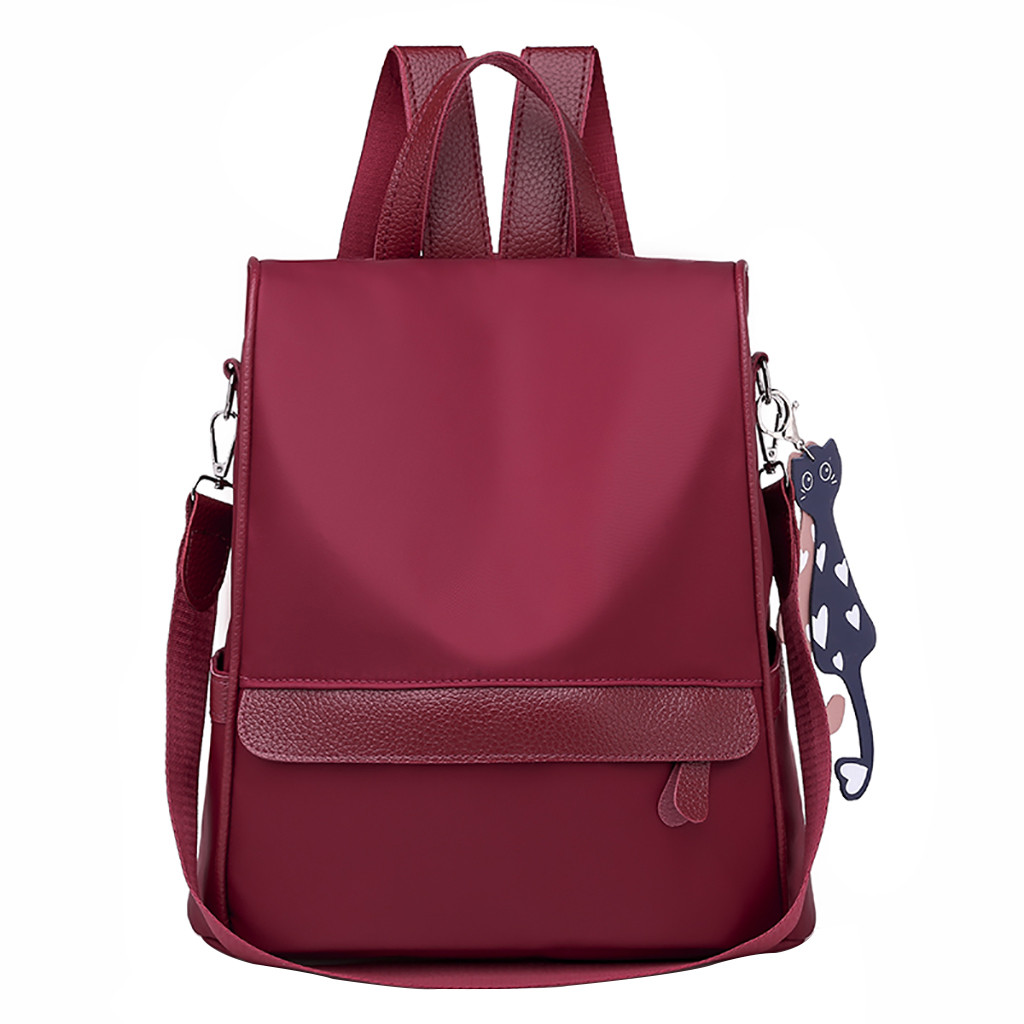 2019 New Fashion Women Oxford casual backpack wild travel student bag backpack Dropshipping Zaino da donna#30 a-line