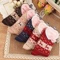 2016 Winter Thermal Cashmere Socks Women Warm Rabbit Wool Socks Female Cute Deer Gift Socks Warm Soft Long Thick Socks
