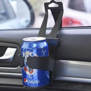 Image 2 - Universal Auto Getränke Tasse Halter Halterung Auto Tür Zurück Sitz Tasse Trinken Halter Stehen Trinken Montieren