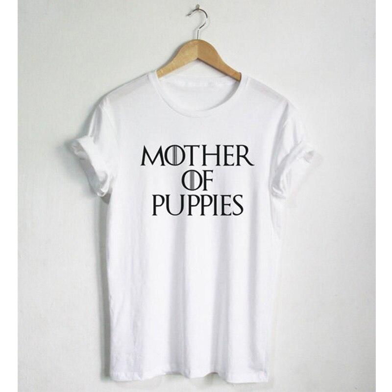 Мать щенков футболка смешные цитаты Футболка модная рубашка Hipster унисекс футболка больше Размеры и Цвета свободные футболки женские