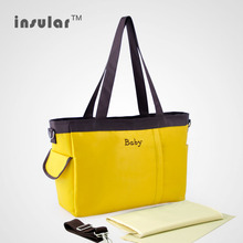 New Style Free Shipping Flash Diaper Bags Multifunctional Nappy Bags Waterproof Mommy Bags