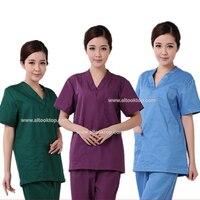 סיטונאי uniformes בית חולים נשים clothing רפואי סיעוד סקראבס חליפת בגדי סט סלון יופי מרפאת שיניים כירורגי אחות