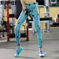 Colorful Women Leggings Fitness Clothing Casual Workout Legging Female Adventure Time Printed Pants 2016 New Fashion