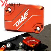 Nuovo Modello Wiith logo Del Motociclo Freno Anteriore Serbatoio Fluido Copertura Della Protezione Per KTM DUKE 125 200 390 Duke RC 200 390