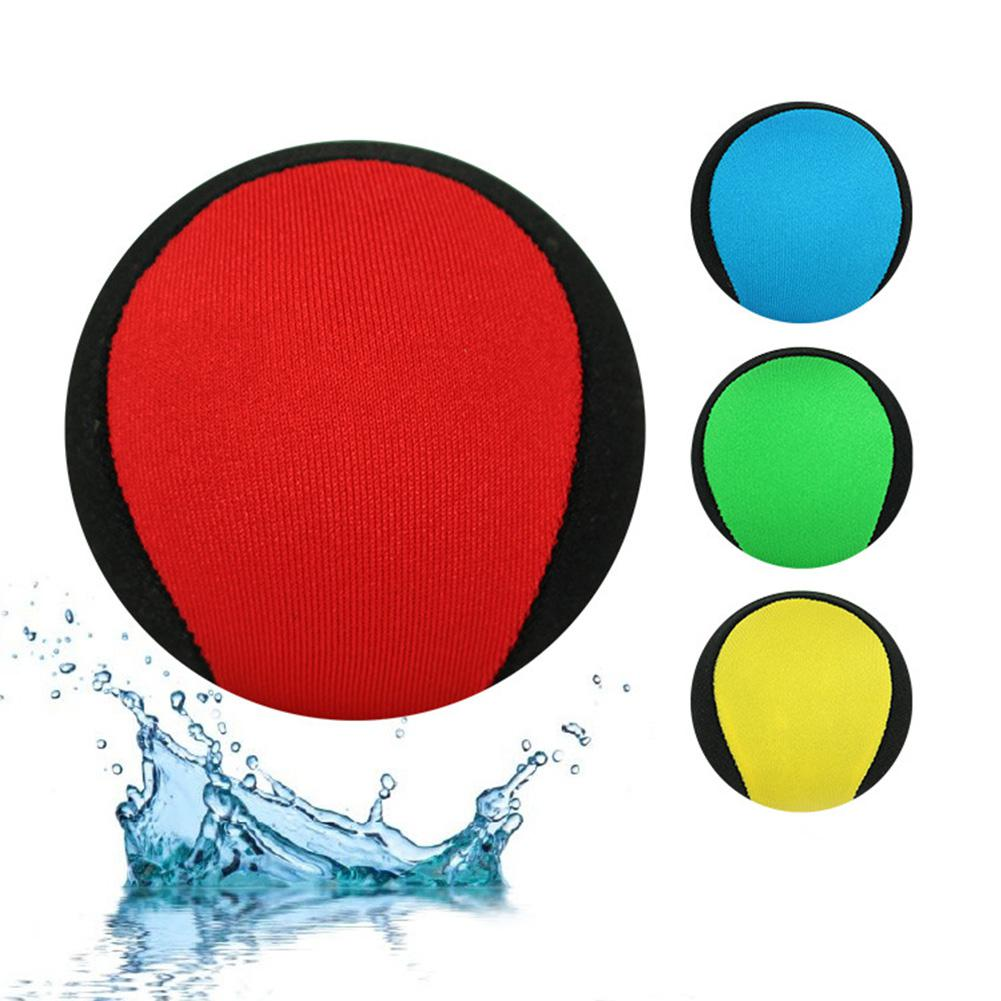 Kids Adult Pool Play Ball Skips On Water Game 5.5cm Water Bouncing Ball For Swimming Pool Lake Seaside