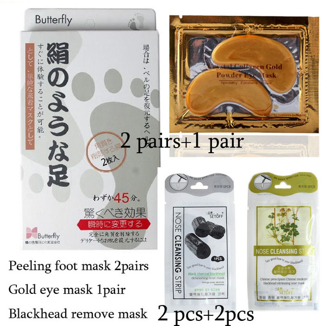(with gift) baby foot peeling renewal mask remove dead skin Exfoliating Foot Mask (Better Peeling Results)