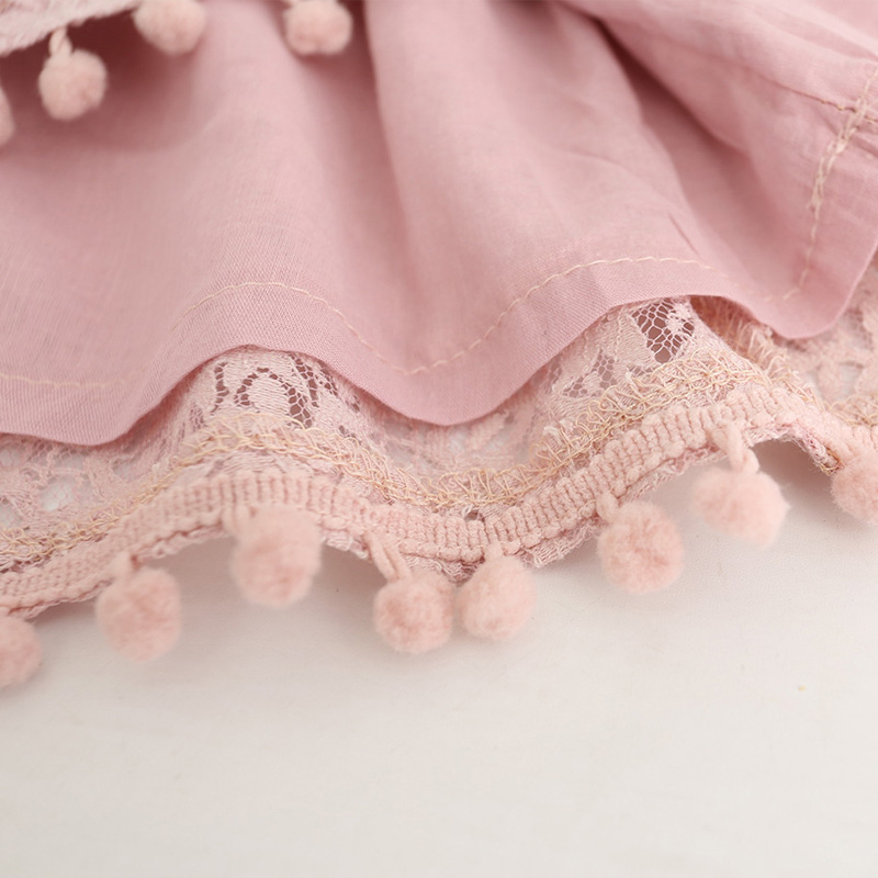 Hurave-2017-Summer-girls-dress-lace-dress-for-kids-clothes-fashion-tassel-dresses-princess-children-summer-vestidos-4