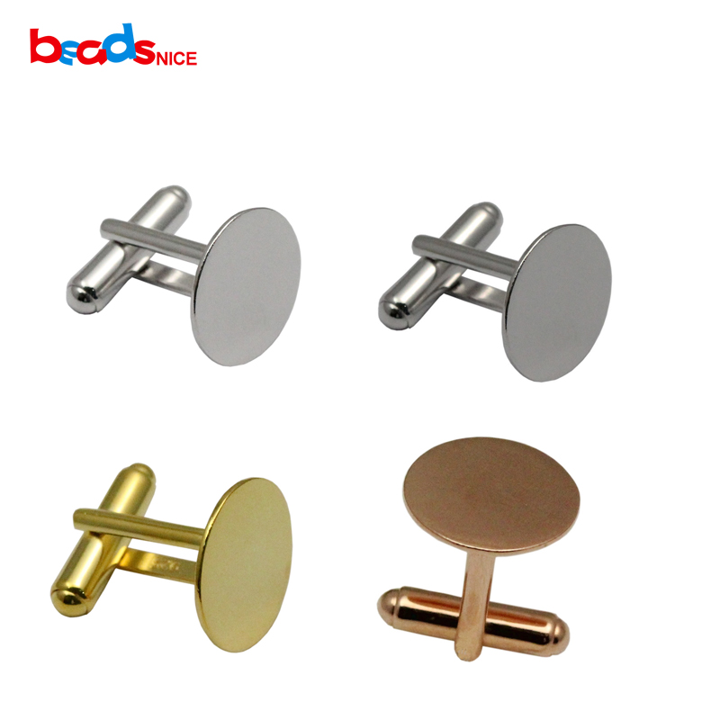 Beadsnice Link-Accessories Men Silver with Glue-Pad Cufflinks 925 for Id-29707 Backs