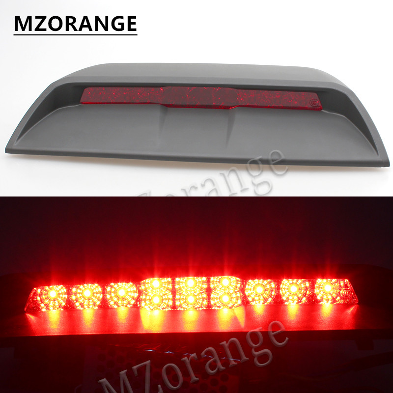 MZORANGE For Chevrolet Cruze 2011 2012 2013 2014 2015 Car High mount Rear Third Brake light stop lamp High Quality Gray/Black car rear trunk security shield shade cargo cover for subaru outback 2011 2012 2013 2014 2015 2016 2017 black beige
