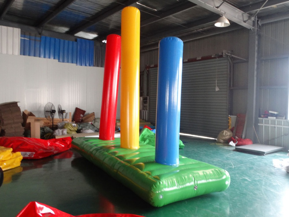 Fun sports props walk jungle obstacles inflatable obstacles