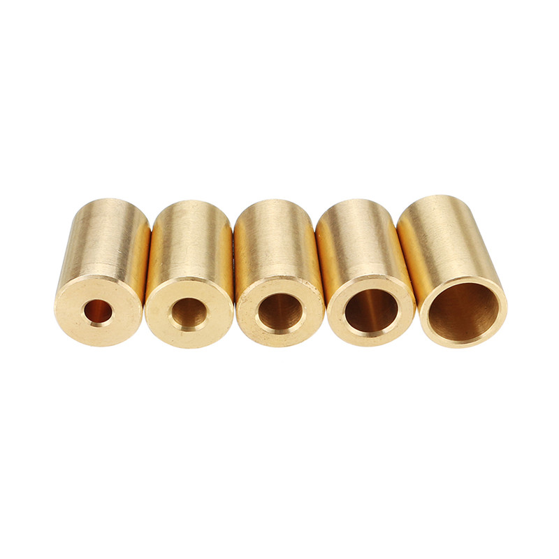 Durable 1pc 3.17/4/5/6/8mm Brass Bush Brass Sleeve For B10 Drill Chuck