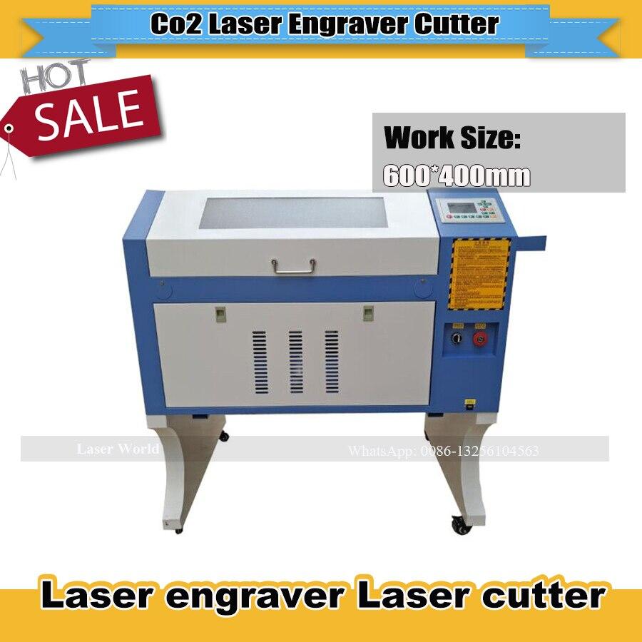 Mini Laser gravure Machine Denim jeans Ruida 4060 USB Interface CNC Laser cutter presse conseil Laser graveur Machine de découpe