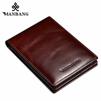 ManBang Passport Holder Genuine Leather Passport Cover Holder Porta Pasaporte Postcards Case Travel Card Wallet Car
