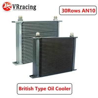 VR - 30 ROW AN-10AN UNIVERSAL ENGINE TRANSMISSION OIL COOLER VR7030