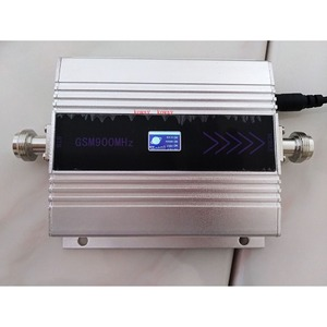 Image 2 - Popular GM signal booster 2G 900mhz MOBILE SIGNAL Repeater LCD display cellular signal repetidor GSM amplificador