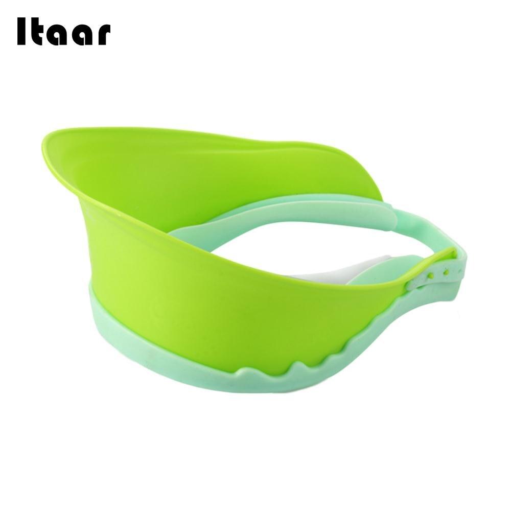 3 Colors Shield Waterproof Infant Shampoo Cap Baby Shampoo Hat Adjustable Wash Hair Baby Shampoo Cap Creative Children Visor