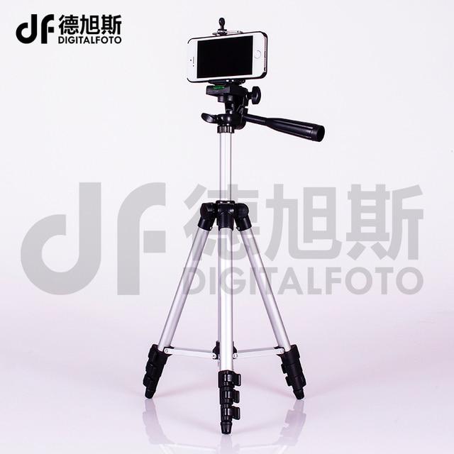 4 sections compact smartphone tripod mini dslr Tripod digital Camera tripod for mobile iPhone Xiaomi Samsung Canon Nikon Sony