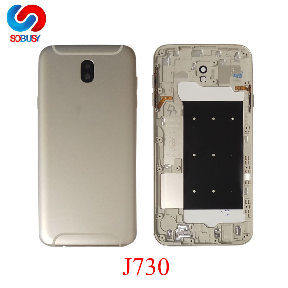 For Samsung Galaxy J7 Pro 2017 J730 J730F SM-730F/DS J730G Housing Battery Back Cover Case Rear Door Chassis Shell Replace PartsFor Samsung Galaxy J7 Pro 2017 J730 J730F SM-730F/DS J730G Housing Battery Back Cover Case Rear Door Chassis Shell Replace Parts