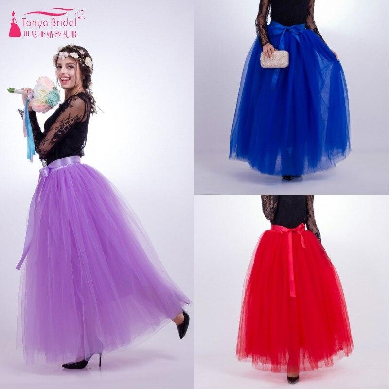 Soft Tulle Maxi Long Tutu Dress Ladies Gown Wedding Guest Dresses ...