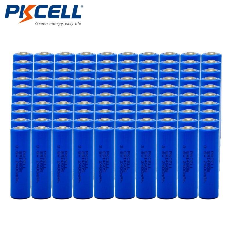 100 pcs/lot Großhandel PKCELL ER14505 Lithium Batterie AA Größe 3,6 V 2400 mAh LiSOCl2 Einzigen Verwenden Batterien LR6 r6P-in Primär- & Trockenbatterien aus Verbraucherelektronik bei  Gruppe 1