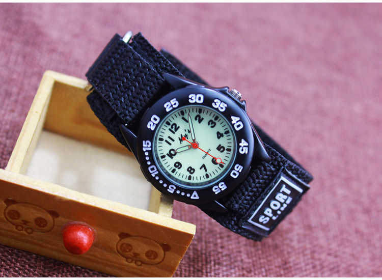 2018 שעון מצויר ילדי אופנה לילדים בני תלמידים ניילון שעוני ספורט גברים אנלוגי watch Relogio