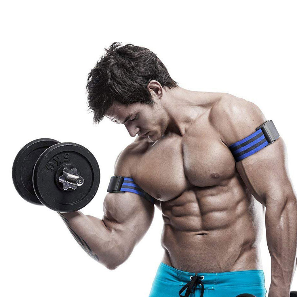 Fitness Gym Equipment Musculation BFR Occlusion Bands Bodybuilding Weightlifting Wrap For Biceps Blood Flow Restriction Training