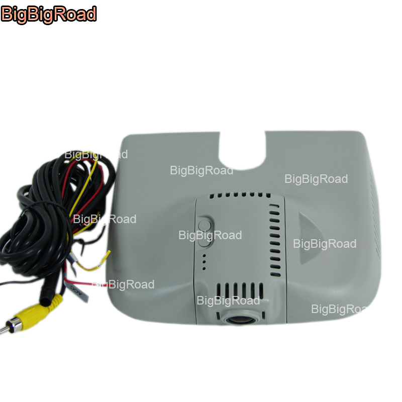 BigBigRoad For Mercedes Benz ML GL Series 2013 2015 w166 250 Low Configuration Car DVR Video