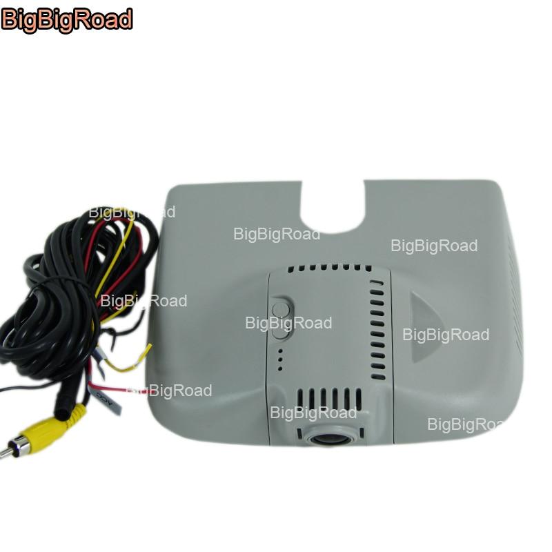 BigBigRoad For Mercedes Benz ML GL Series 2013-2015 w166 250 Low Configuration Car DVR Video Recorder Wifi DVR dash cam