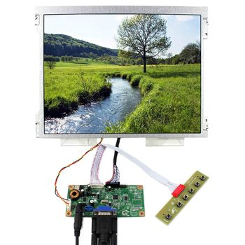 """VGA LCD Controller Board With 12.1"""" M121GNX2 1024x768 LED Backlight LCD Panel"""