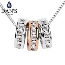 Cristales De Swarovski Austriaco Real 18 K Chapado En Oro Collar Pendiente de La Manera para las mujeres Nueva Venta Caliente Superior SE7208