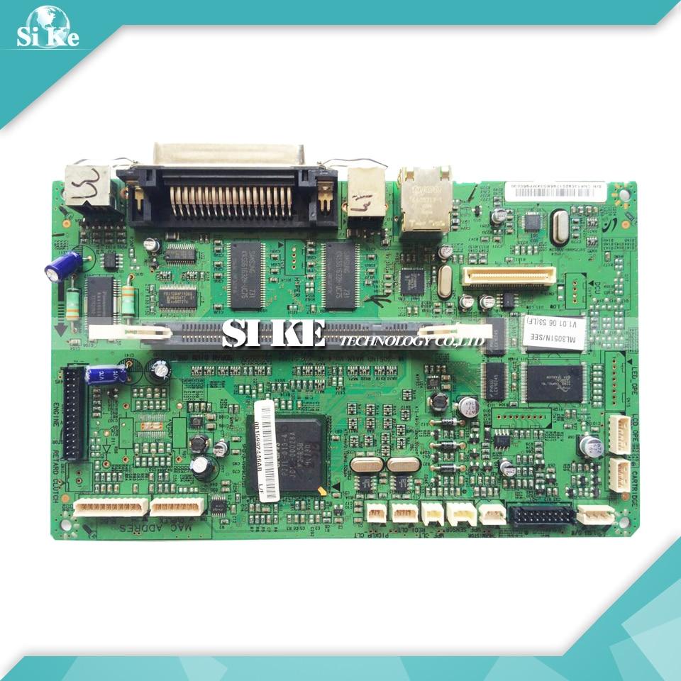 Laser Printer Main Board For Samsung ML-3051N ML-3051ND ML-3051 ML 3051 3051ND 3051N Formatter Board Mainboard Logic Board laser printer main board for samsung scx 4100 scx 4100 scx4100 formatter board mainboard logic board