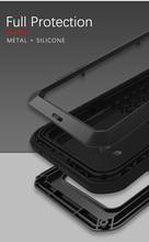 Gorilla cam film hediye) AŞK MEI Metal Su Geçirmez LG kılıfı G8s ThinQ Darbeye Dayanıklı Kapak Için LG G8s ThinQ 6.2 inç kapak çapa